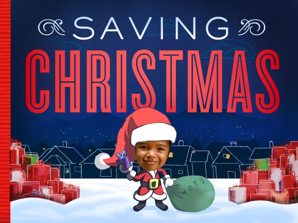 Saving Christmas Cover