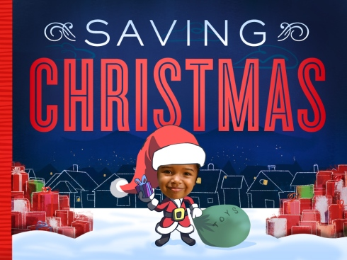 Saving Christmas Cover