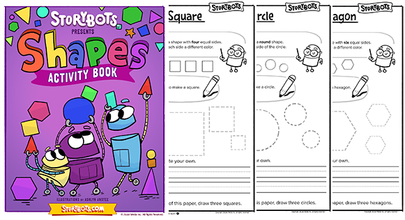 shape learning books