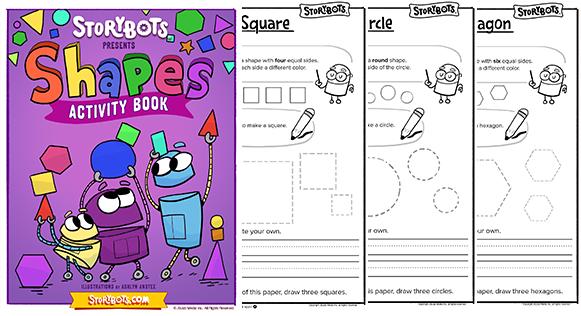 shape learning books