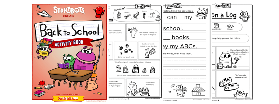 Back To School With The Storybots Storybots Blog
