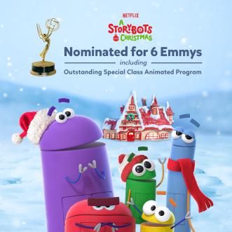 A StoryBots Christmas Nominated for Six Daytime Emmy Awards