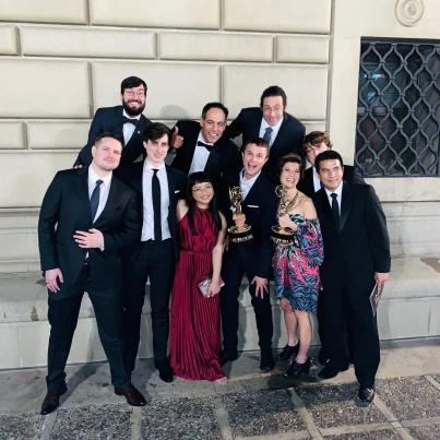 Ask The StoryBots Team Celebrating Daytime Emmy Award Wins